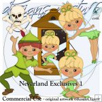 Neverland Clipart Exclusives 1