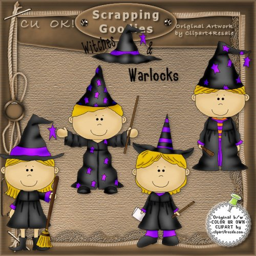 Witches and Warlocks 1 CU
