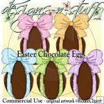 Easter Chocolate Eggs CU