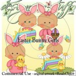 Easter Bunny Girls CU