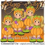 Pumpkin Girls Blonde Resell