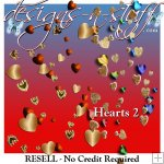 Heart Garlands 2 - Resell