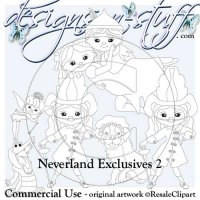 Neverlands Digital Stamps Exclusives 2