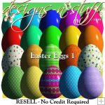 Easter Eggs 1 - Resell