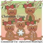 Christmas Gingers 1 CU