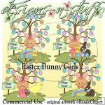 Easter Bunny Girls 2 CU