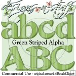 Green Striped Alpha CU