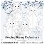 Sleeping Beauty Digital Stamps Exclusives 4