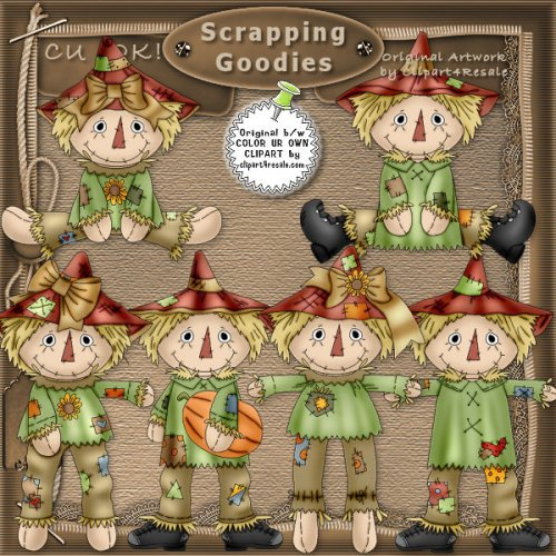 Raggedy Scarecrows CU