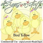 Bird Yellow CU