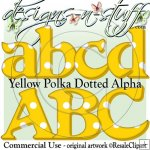 Yellow Polka Dotted Alpha CU