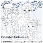 Pinocchio Digital Stamps Exclusives 2