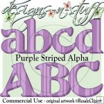 Purple Striped Alpha CU