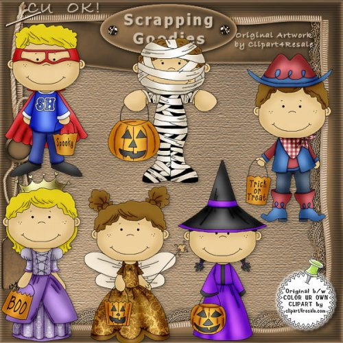 Halloween Toddlers 1 CU