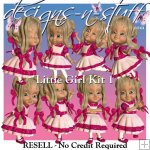Little Girl Kit 1 - Resell