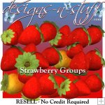 Strawberry Groups - Resell