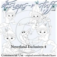 Neverlands Digital Stamps Exclusives 4