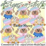 Easter Sheep CU