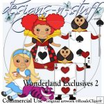 Wonderland Clipart Exclusives 2