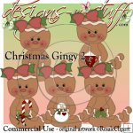 Christmas Gingers 2 CU