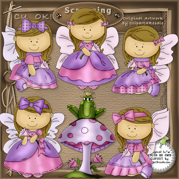 Butterfly Angels 1 CU - Click Image to Close