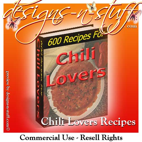 Chili Lovers - 600 Recipes