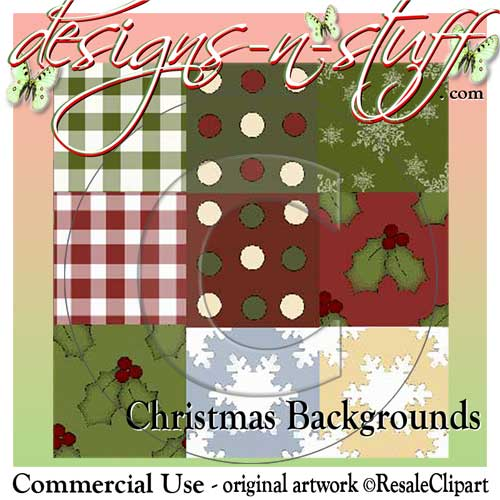 Christmas Backgrounds CU