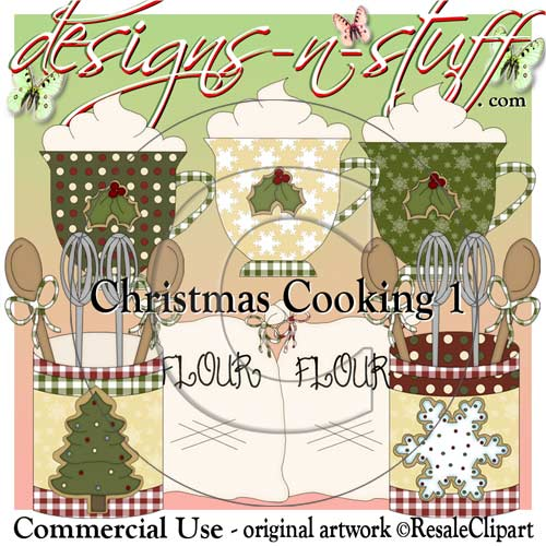 Christmas Cookies 1 CU - Click Image to Close