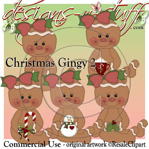 Christmas Gingers 2 CU - Click Image to Close