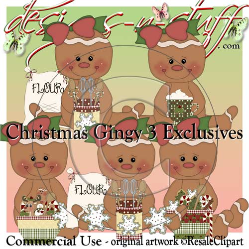 Christmas Gingers 3 CU