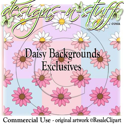 Daisy Backgrounds CU