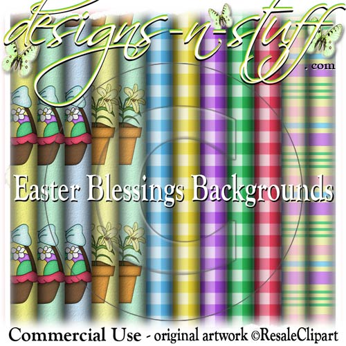Easter Blessings Background Papers CU