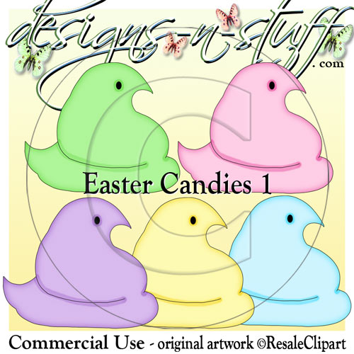 Easter Candies 1 CU