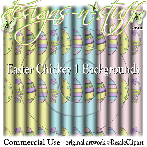 Easter Chickey 1 Backgrounds CU
