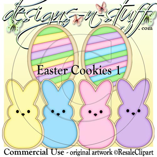 Easter Cookies 1 CU - Click Image to Close