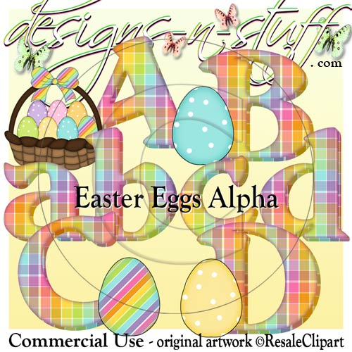 Easter Eggs Alpha CU