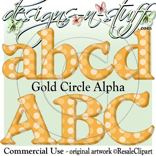 Gold Circle Alpha CU