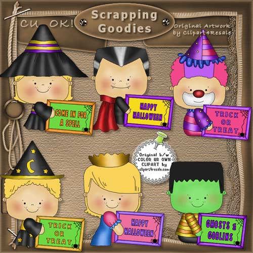 Halloween Messages 4 CU - Click Image to Close