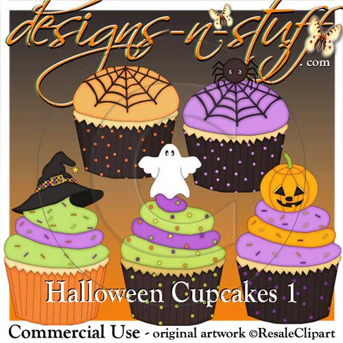 Halloween Cupcakes 1 Resell