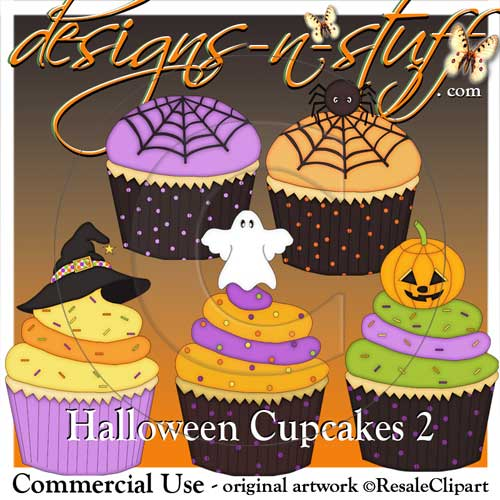 Halloween Cupcakes 2 - Click Image to Close