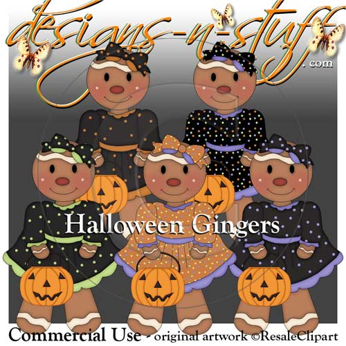 Halloween Gingers Resell