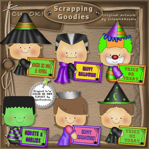 Halloween Messages 1 CU