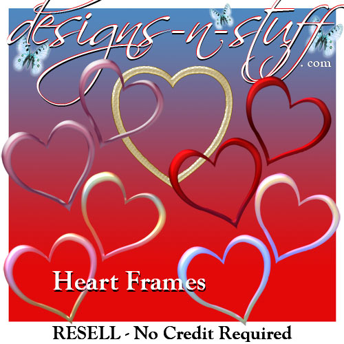 Heart Frames - Resell