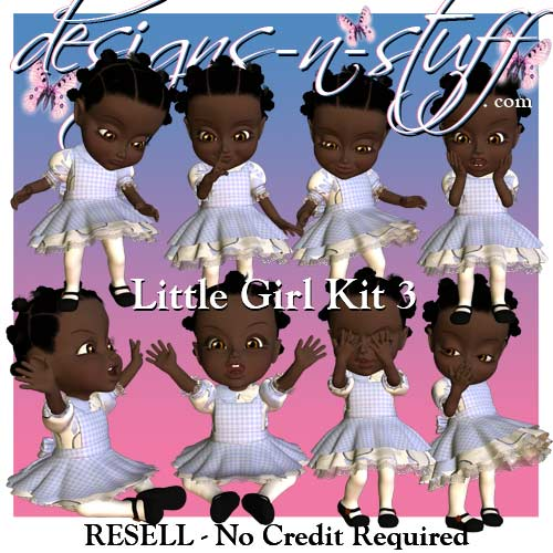 Little Girl Kit 3 - Resell - Click Image to Close