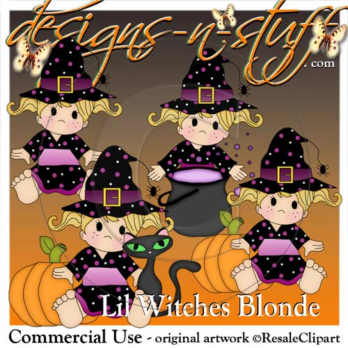 Lil Witches Blonde
