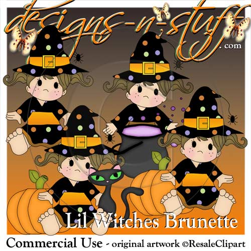 Lil Witches Brunette Resell