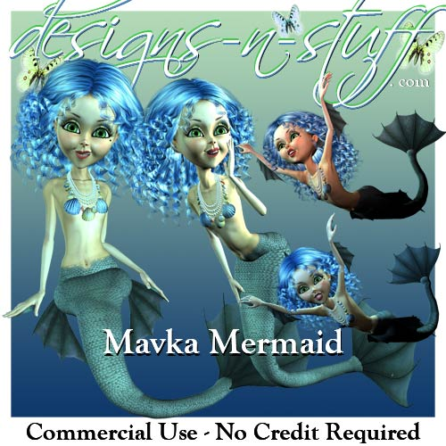 Mavka Mermaid