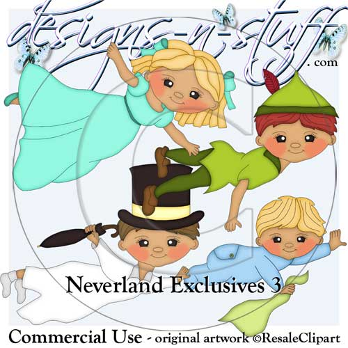 Neverland Clipart Exclusives 3