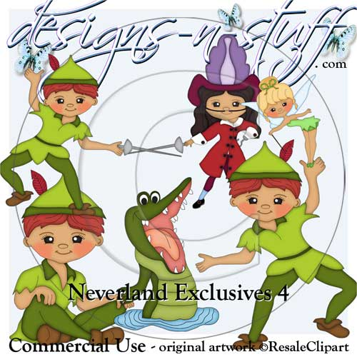 Neverland Clipart Exclusives 4