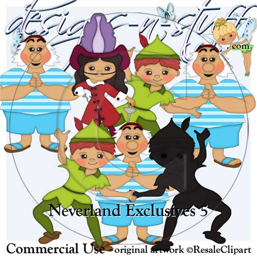 Neverland Clipart Exclusives 5